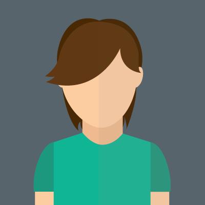 An illustration of a female avatar - 7